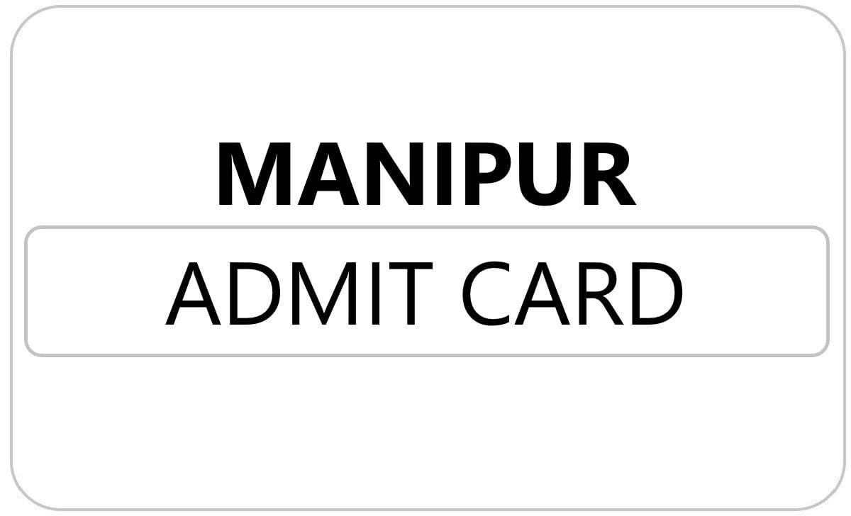 Manipur HSC Admit Card 2022
